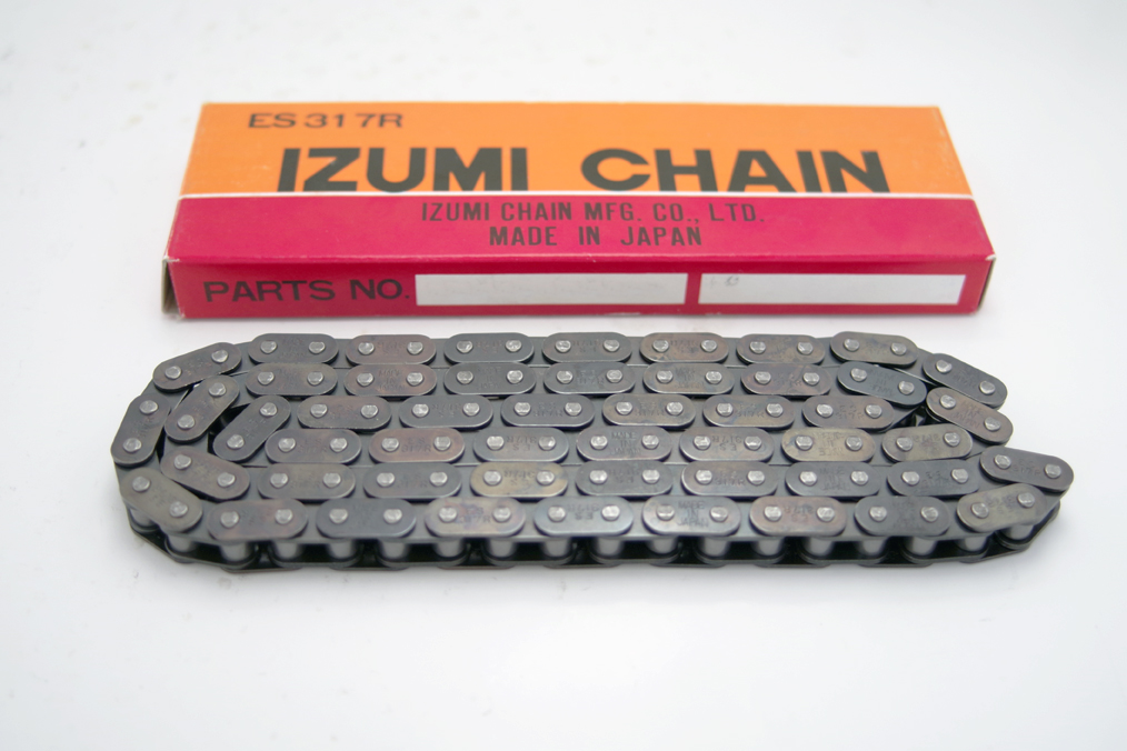 Chain for automobiles - IZUMI CHAIN MFG CO ,LTD
